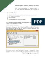 Conectando Uma Aplicação Python Ao SQL_Server