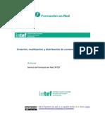 Creación Reutilización y Distribución de Contenidos Digitales