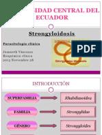 Strongyloidosis - Strongyloides