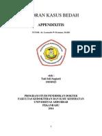 appendixitis