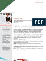 Genesys Sip Datasheet