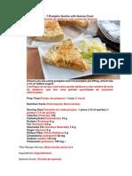 7ª Pumpkin Quiche With Quinoa Crust