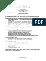 FFA CSAC Meeting Minutes Renewal