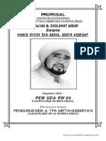 Proposal Pengajian Habib Syech