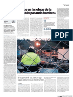 «Hay Empleados en Las Obras de La 'Y' Vasca Que Están Pasando Hambre»
