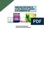 3.1 Indice de Aridez en Ambiente Sig-libre