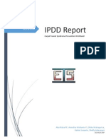 Ipdd Report