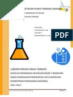 Meta Data Modul Praktikum Kimia Farmasi Analisis Smkn7 Bandung 2011