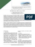 Análisis dinámico empleando espectros de diseño del reglamento (RCDF) y del manual de CFE (2008)