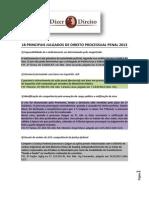 Julgados de Direito Processual Penal 2013
