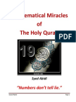 Miracles of Holy Quran
