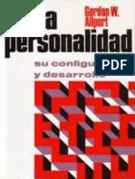 Psicologia de La Personalidad - Gordon Allport