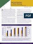 IFPRI - Ensuring Food & Nutrition Security in a Green Economy Jun 2012
