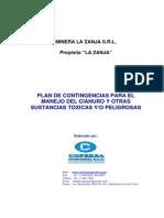 Plan Contingencia Mineria Zanja Bien