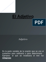 El Adjetivo.ppt
