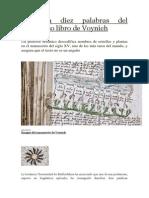 Descifran Diez Palabras Del Misterioso Libro de Voynich