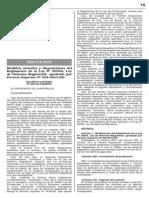 Decreto Supremo Nº 008-2014-Minedu
