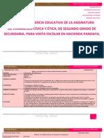 Formacion Civica y Etica Secundaria