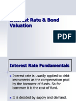 Interest Rate & Bond Valuation