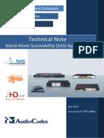 SAS Technical Note Ver. 6.2