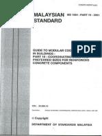 97618419 Malaysian Standards MS1064 Part10 2001