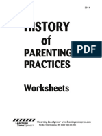 3014 History Parenting Worksheet
