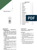 MS6252B English Manual