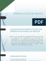 INTERPOLACIÓN DE NEWTON.pptx