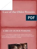 Care of Older Persons