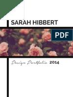 Sarah Hibbert Design Portfolio Final