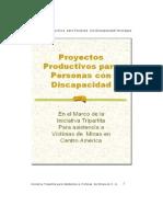 Proyectos Productivos Para Personas Con Discapacidad