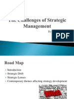 challenges in advance strategic management