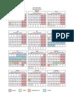 Aramco Operational Calendar