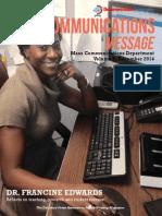 Mass Communications Message - Volume 8 (December 2014)