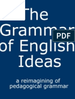 The Grammar of English Ideas