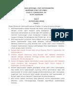 Bab i Peraturan Internal Staf Keperawatan