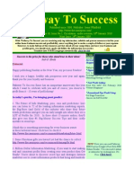 Pathway To Success Issue No 1