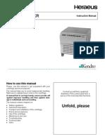 Heraeus Multifuge 4KR-User Manual