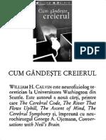 William H. Calvin-Cum Gandeste Creierul-Humanitas (2007)_k2opt