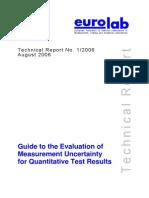 EL 11-01-06 387 Technical Report Guide Measurement Uncertainty (1)