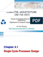 Chapter04-1SingleCycleProcessor
