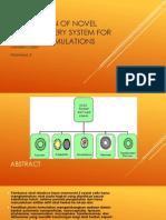 Application of Novel Drug Delivery System for Herbal