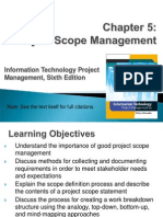 Project Scope Management