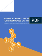 2014 Advanced Energy Technologies for GHG Reduction