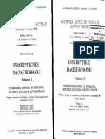 inscriptiile daciei romane