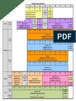 Timetable Fall Term 2014-2015