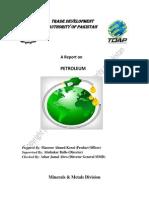 Tdap Report on Petroleum