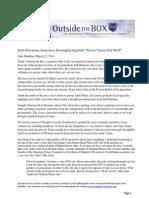 John Mauldin's Outside the Box - Summary of Seth Klarman's 2013 Letter