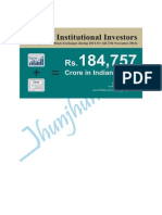 Foreign Institutional Investors Investment in India during 2014-15 until 27th November 2014