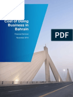 KPMG Cost of Doing Business in Bahrain - 2014